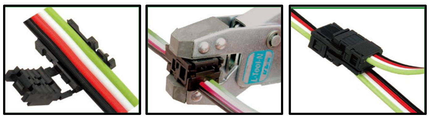 Innowacyjny system kablowania Sho-haisen pozwala na robienie rozgałęzień w wyjątkowo schlundy sposób