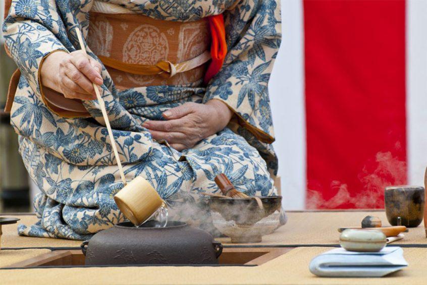 Japońska ceremonia parzenia herbaty - Mitsubishi Electric News